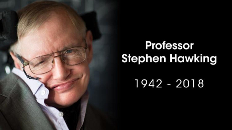Stephen Hawking Image: In Memoriam: Professor Stephen Hawking