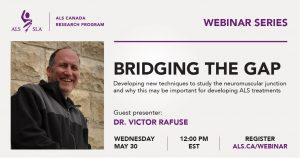 Dr. Victor Rafuse webinar info