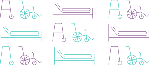 Mobility equipment icons