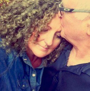 David and Deborah Liles sharing an embrace