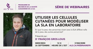 Francois Gros-Louis webinar graphic in French